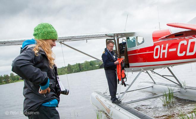 Vesitaso, minä ja lentäjä-Mönkkönen