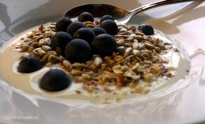 Lahtuan tilan aamiaisherkkuja Kuva: Terhi Jaakkola