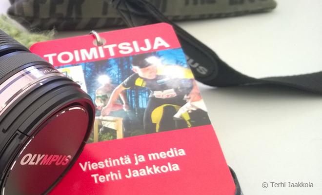 Jukola 2014 toimitsija Kuva: Terhi Jaakkola