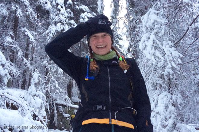 Talvipolkujuoksija 4 Kuva: Helena Skogman