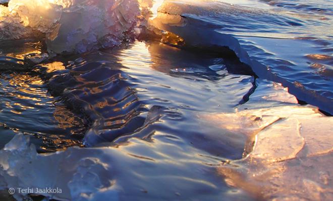 Aurinkojää 4 Kuva: Terhi Jaakkola