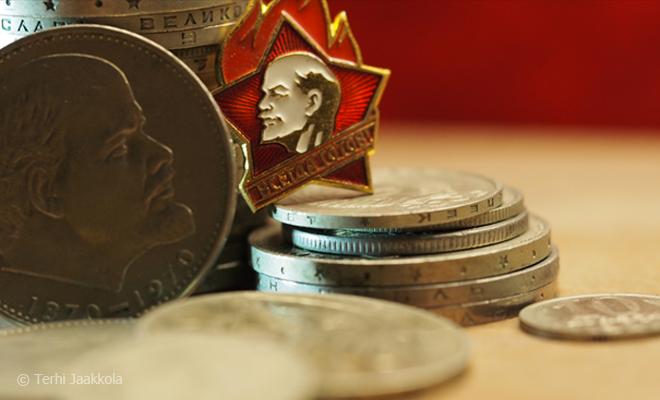 Lenin ja ruplat Kuva: Terhi Jaakkola