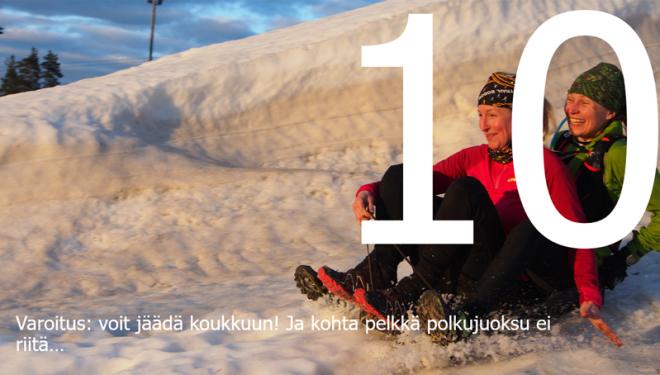 Polkujuoksua aloittelijoille 10 Kuva: Terhi Jaakkola