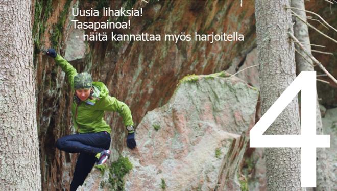 Polkujuoksua aloittelijoille 4 Kuva: Terhi Jaakkola