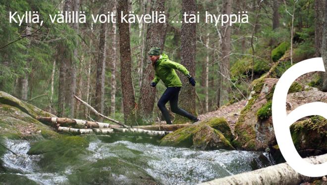 Polkujuoksua aloittelijoille 6 Kuva: Terhi Jaakkola